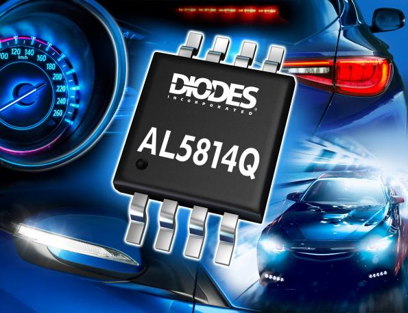 Automotive LED driver-controller features low dropout, enhanced dimming