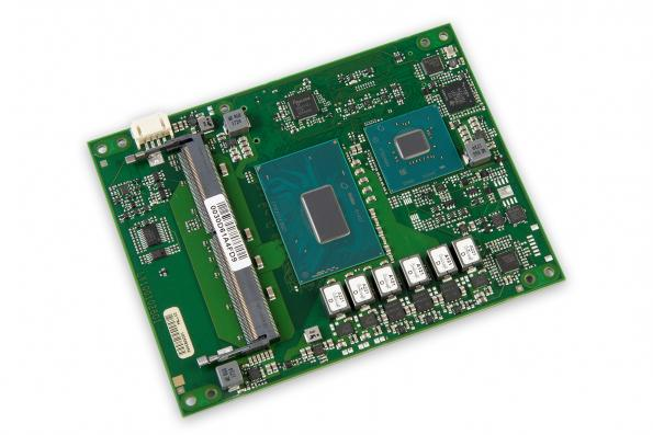 COM Express modules with Intel 9th generation processors