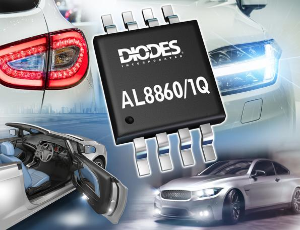 Automotive Buck, LED Drivers simplify interior and exterior lighting