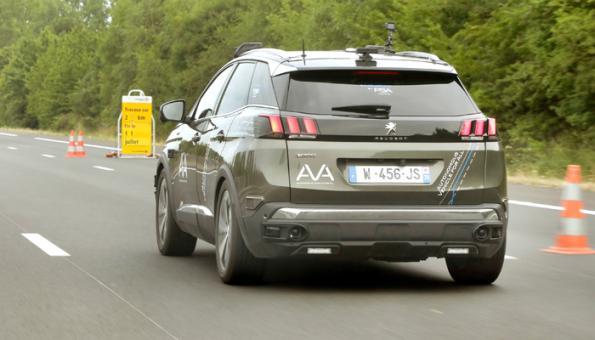 Peugeot, Vinci test L3/L4 handover scenarios