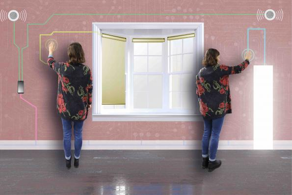 Intelligent textiles transmit data in the Smart Home