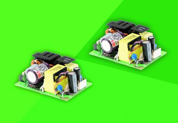 Compact and highly efficient: PCB power supply series EPP-120S