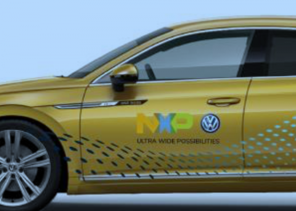 NXP, Volkswagen demo UWB application fields in the car