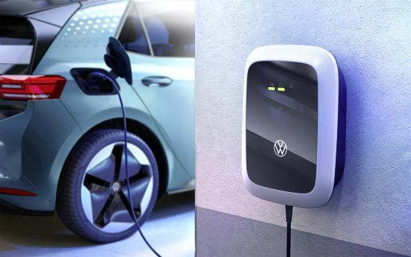 Volkswagen supports e-mobility with charger offering