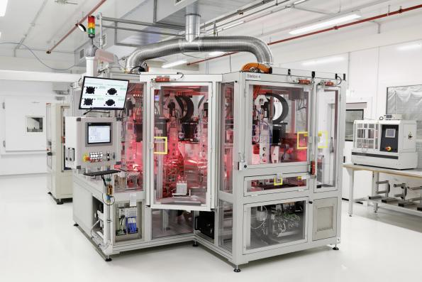 Volkswagen has opened a pilot plant for battery cell manufacturing line for small series.
