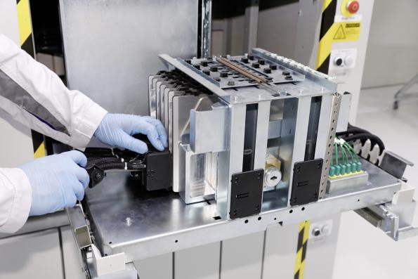 Volkswagen launches battery production pilot line