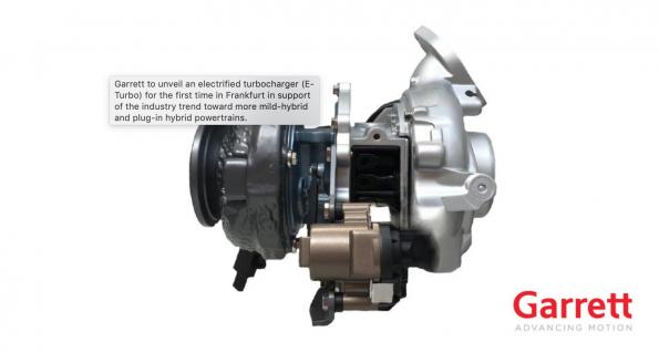Software optimizes E-Turbo integration with electrified drivetrains