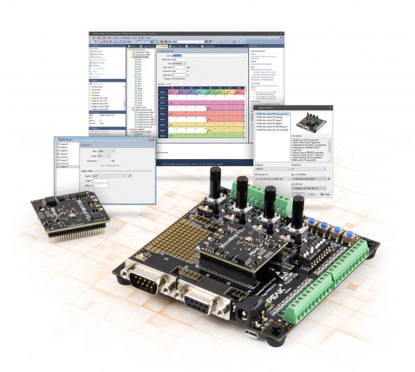 Processor and development board for PCAN-MicroMod FD series