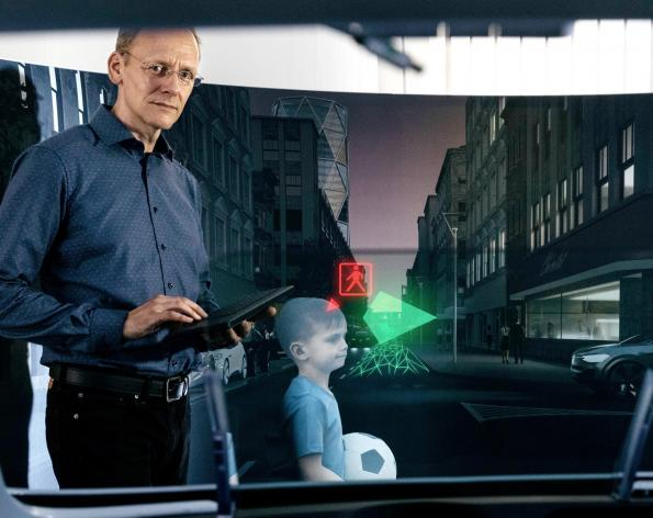 Volkswagen invests in 3D holography company