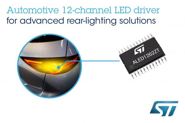 Multichannel LED driver enables innovative lighting effects