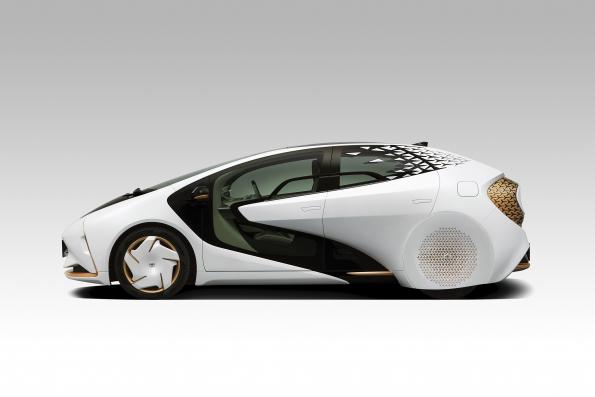 Autonomous concept car from Toyota offers living room atmosphere