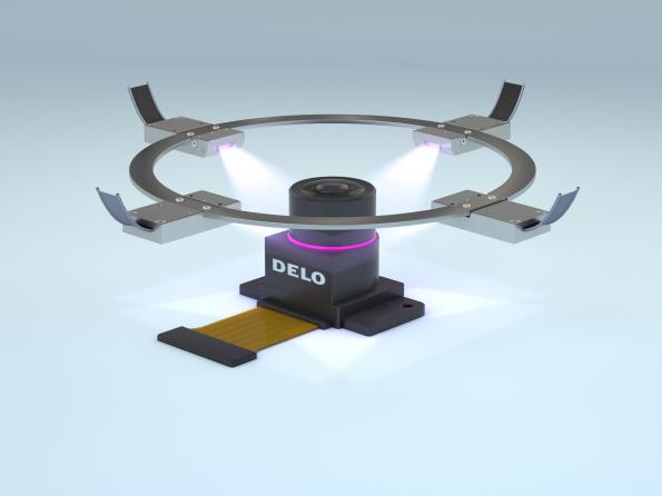LED curing lamp targets applications with tight space requirements