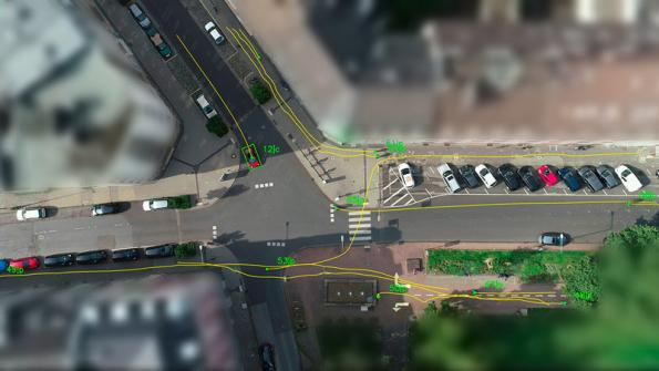 Drones support validation of automated driving functions