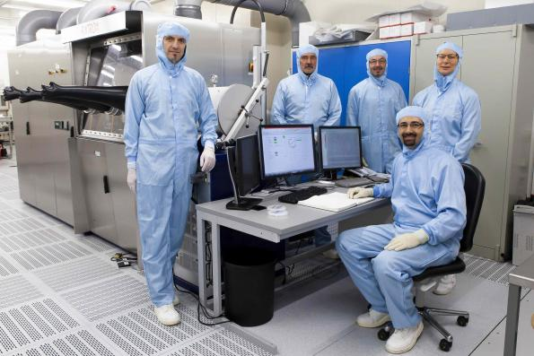 Innovative semiconductor material first produced by MOVCD