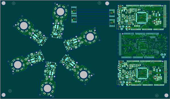 Easy and flexible PCB panel testing