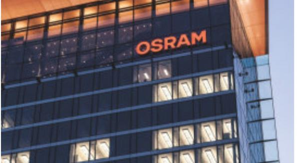 Chip manufacturer ams takes over lighting group Osram