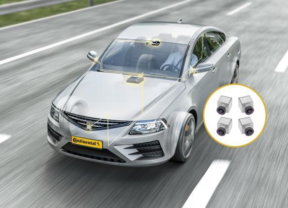 Cameras provide more visibility around the car