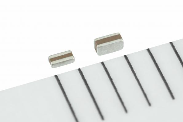 Industry's first flip-type MLCCs in 0510 form factor for automotive applications