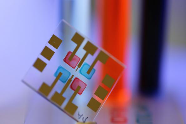 Printed light sensors can tell colors