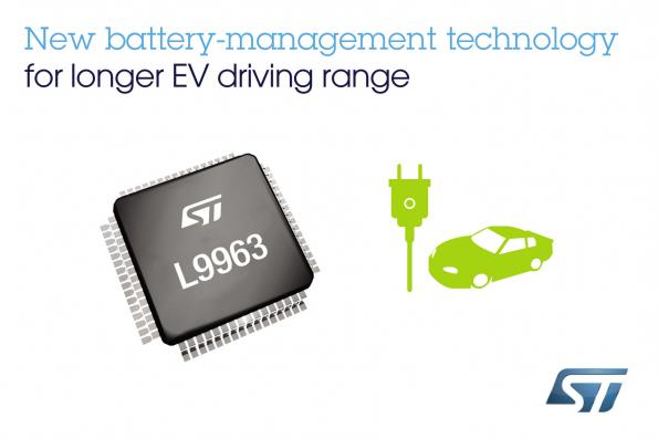 Battery management chip increases range, reliability of electric cars