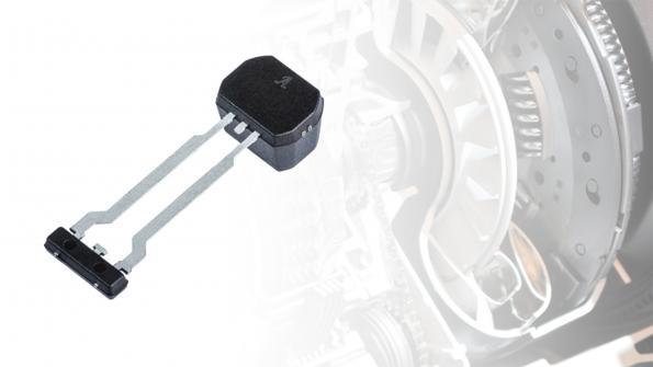Back-biased GMR speed & direction sensor targets automotive transmissions
