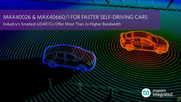 Fast chips double lidar processing capacity