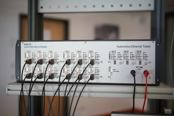 Automotive Ethernet test system automates testing