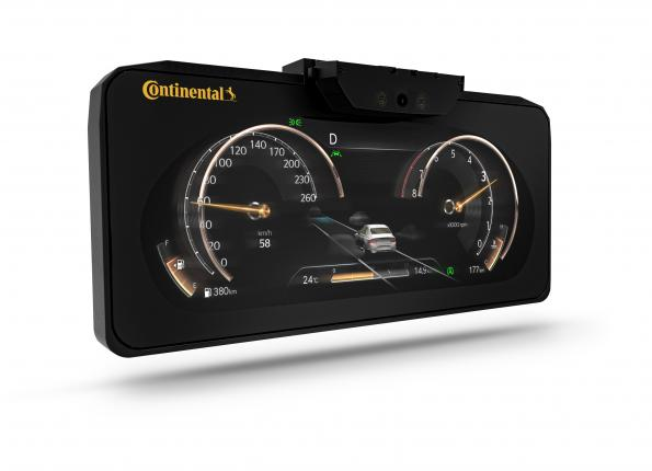 Continental brings 3D display to a series car