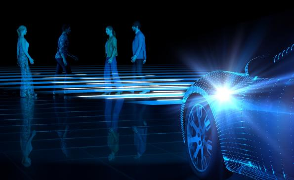 Testing automotive radar with multiple targets
