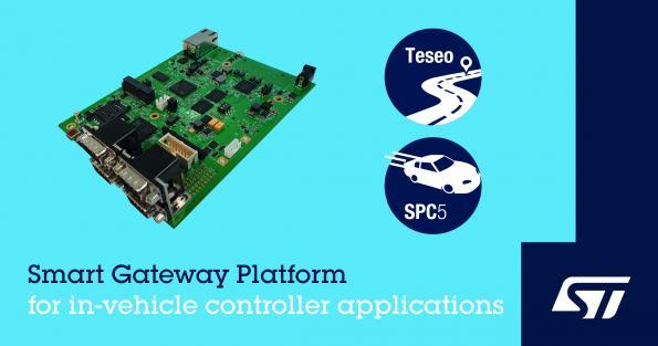Gateway platform handles gigabit connectivity in the car