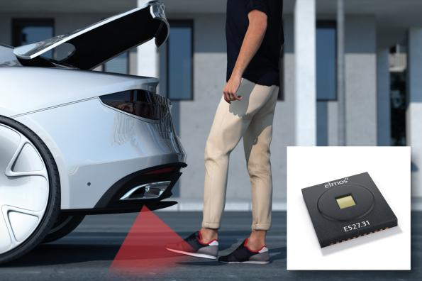 Time-of-flight imager for object and gesture recognition in cars
