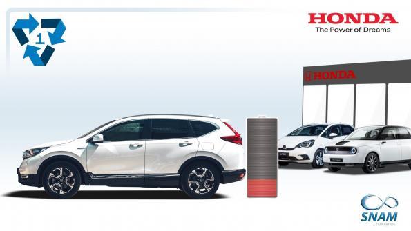 Honda breathes a second life into its batteries