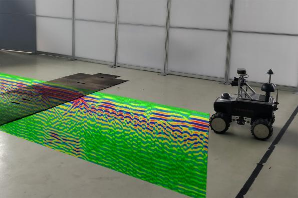 Researchers investigate ground radar for vehicle navigation