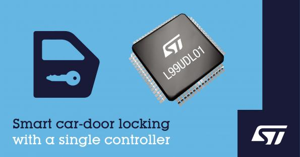 IC integrates numerous door control functions for cars
