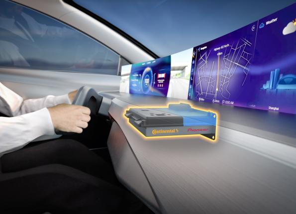 Continental joins forces with Pioneer for infotainment developments