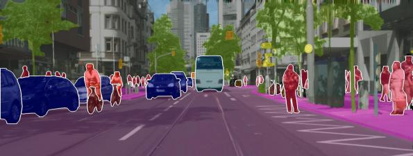 Deep learning method improves environment perception of self-driving cars
