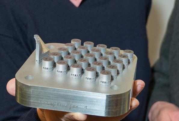 High-precision metal parts from the 3D printer