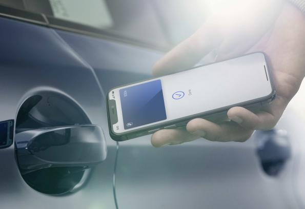 BMW integrates virtual car key into Apple iPhone