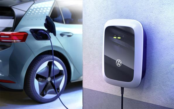 """Volkswagen enters home charger market r for everyone"""""""
