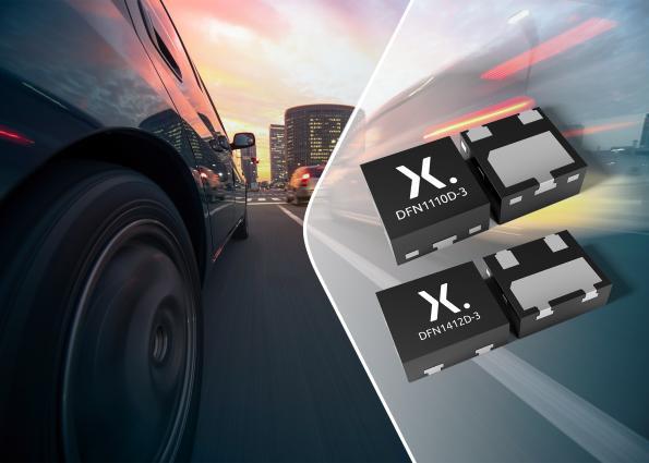 Nexperia shrinks discretes, targeting automotive applications