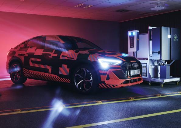 Audi tests bidirectional charging