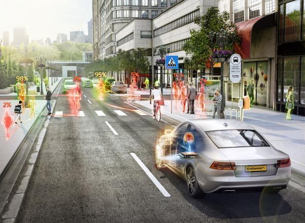 Continental bets its future on digitization, autonomous driving, e-drives