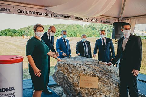 Magna expands powertrain business in Slovakia