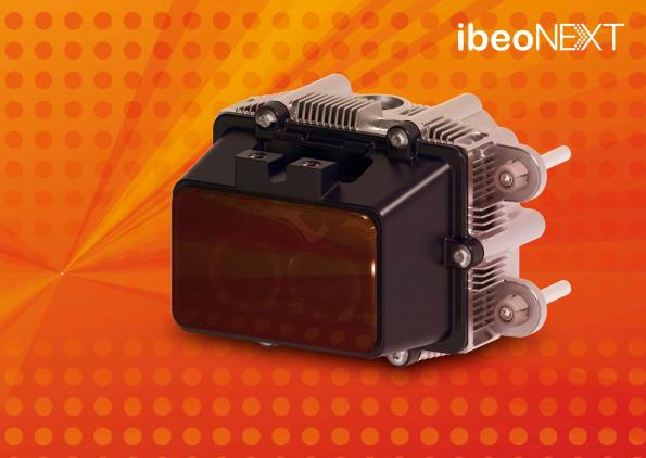 Lidar sensor generates foto-like environment image