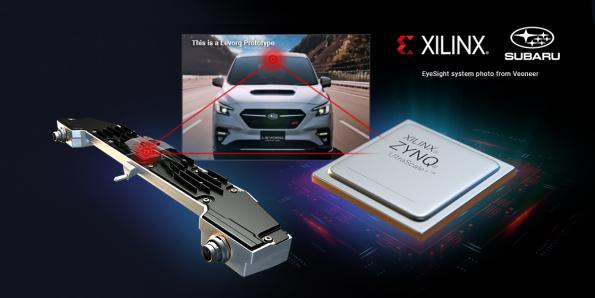 Subaru uses Xilinx chips in central driver assistance system