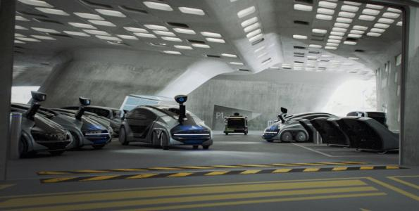 Centrally controlled robot vehicles to ensure urban mobility