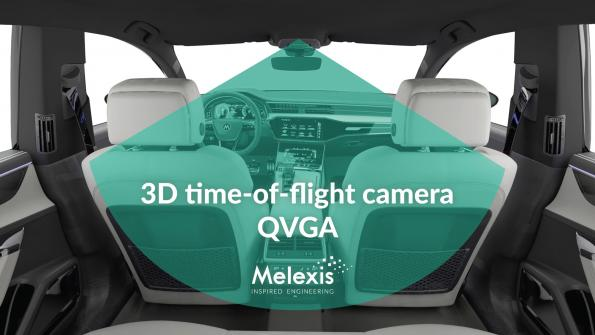 Time-of-flight sensor has QVGA resolution