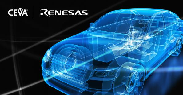 Renesas integrates CEVA DSP into automotive SoCs