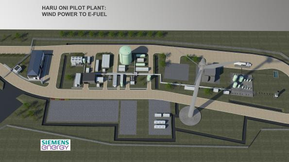 Porsche, Siemens Energy build plant for climate-neutral eFuels