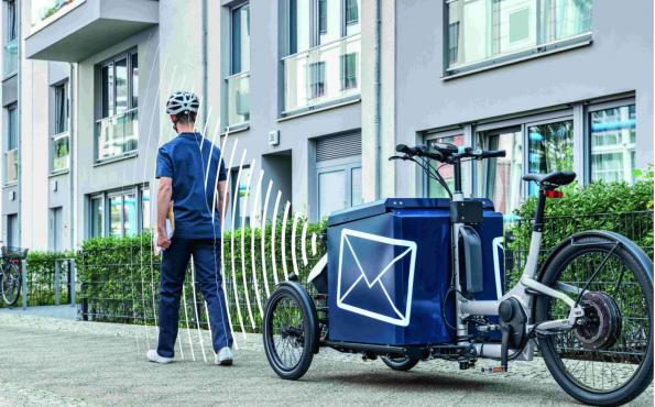 "Autonomous cargo bike to smoothen the ""last mile"" in logistics"